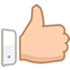 Good service icon (thumbs up)