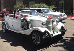 Beauford Tourer at De Courceys Manor in Cardiff